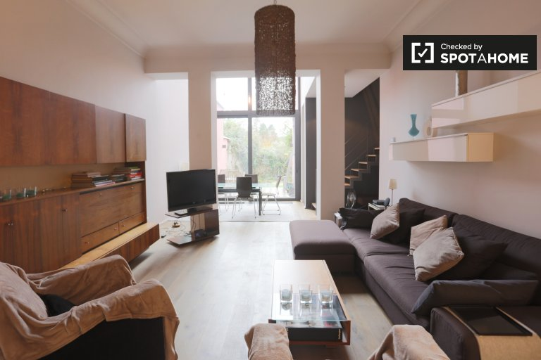 Beautiful 3-bedroom house for rent in Forest, Brussels