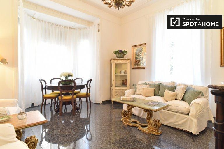 Appartement de luxe 3 chambres à louer à Rome historique