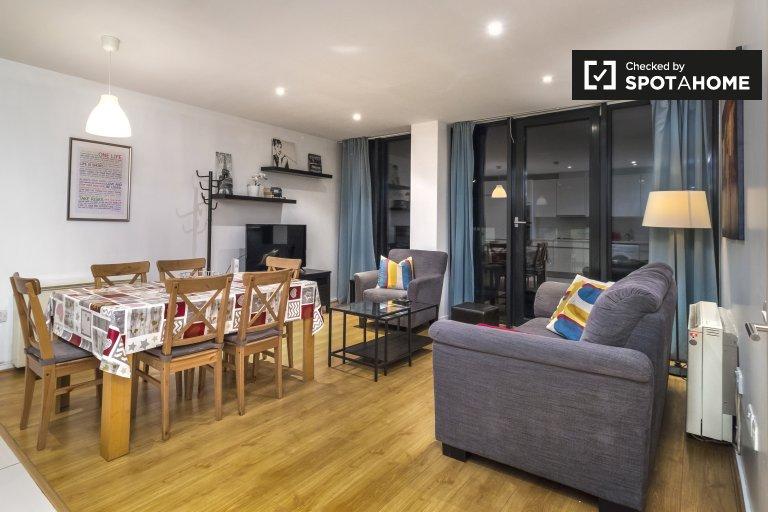 Lussuoso appartamento con 3 camere da letto in affitto a Silicon Docks, Dublino