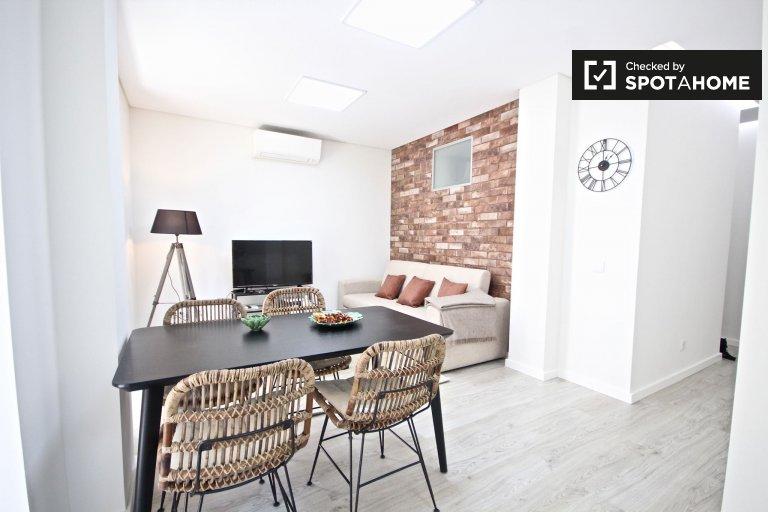 Appartamento con 2 camere da letto in affitto a Penha de França, Lisbona.