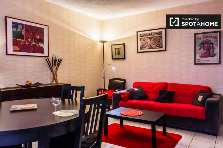 Stunning 1-bedroom apartment for rent in Part-Dieu