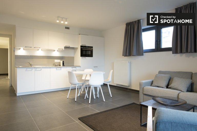 Stylowy 1-pokojowy apartament do wynajęcia w Evere w Brukseli