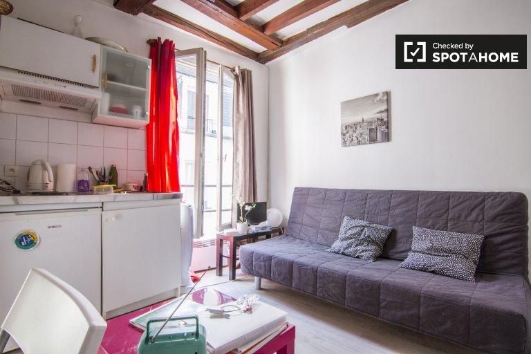 Charmant studio à louer dans le 18ème arrondissement, Paris