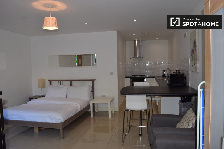 Sleek studio apartment for rent in Ballsbridge, Dublin