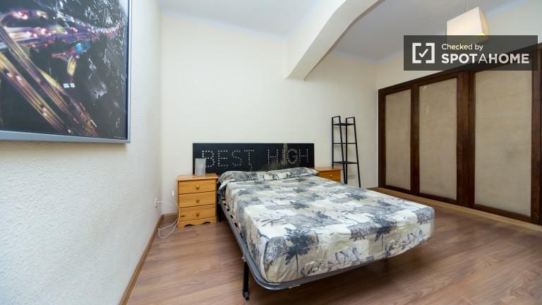 Spacious interior double room