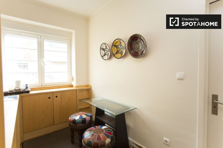 1-bedroom apartment for rent in Arroios, Lisbon
