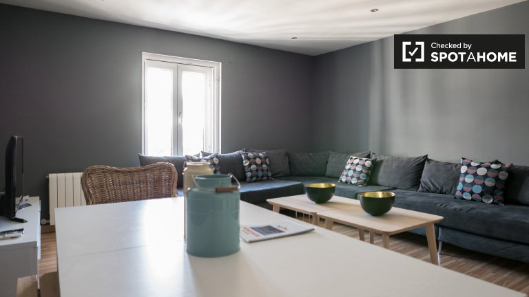 Apartamento de 4 quartos para alugar em Centro, Madrid