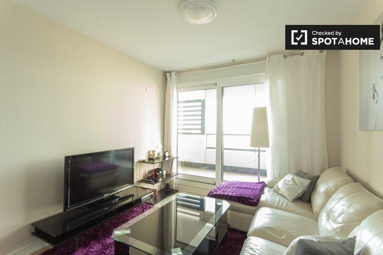 Luxuriöse 2-Zimmer-Wohnung zu vermieten, Poblenou, Barcelona