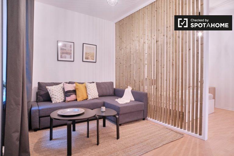 Apartamento com 1 quarto para alugar em Schöneberg, Berlim