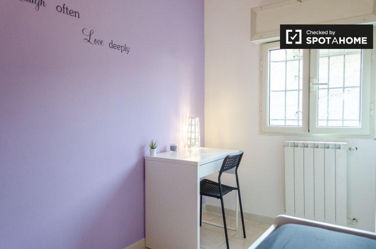 Chambre à louer dans une maison de 4 chambres à Nomentano