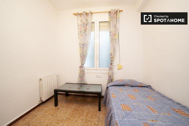Einzelzimmer zu vermieten, 3-Zimmer-Wohnung, Sant Martí