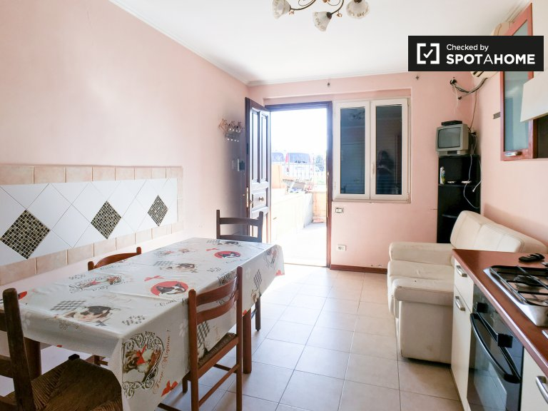 2-bedroom house for rent in Tor Vergata, Rome