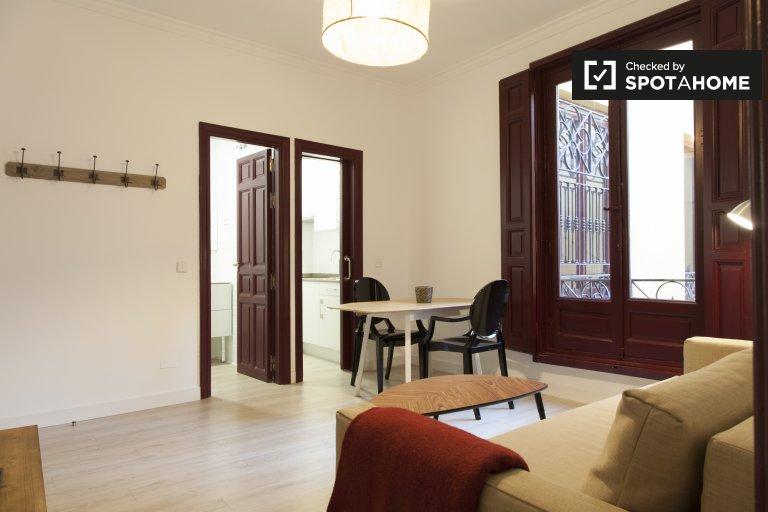 Apartamento de 1 quarto clássico para alugar em Centro, Madrid