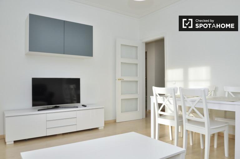 Renovated 3-bedroom apartment for rent in El Born, Barcelona