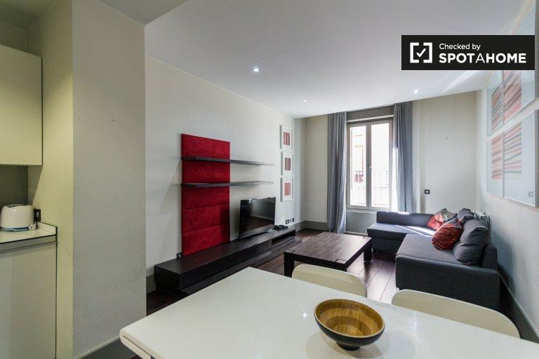 1-pokojowe mieszkanie do wynajęcia w Chueca, Madryt