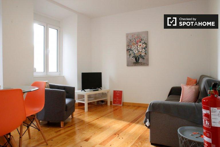 Lindo apartamento de 2 quartos para alugar em Penha de França