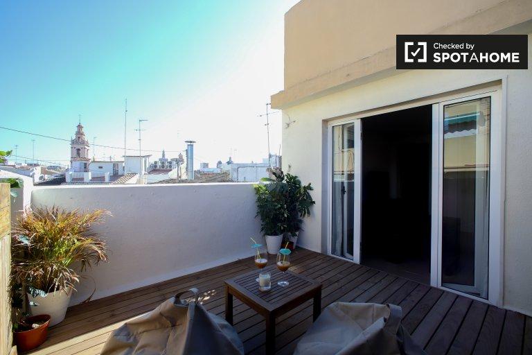 1-pokojowe mieszkanie do wynajęcia w Ciutat Vella w Walencji