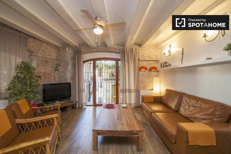 1-Zimmer-Wohnung zur Miete in Barri Gòtic, Barcelona