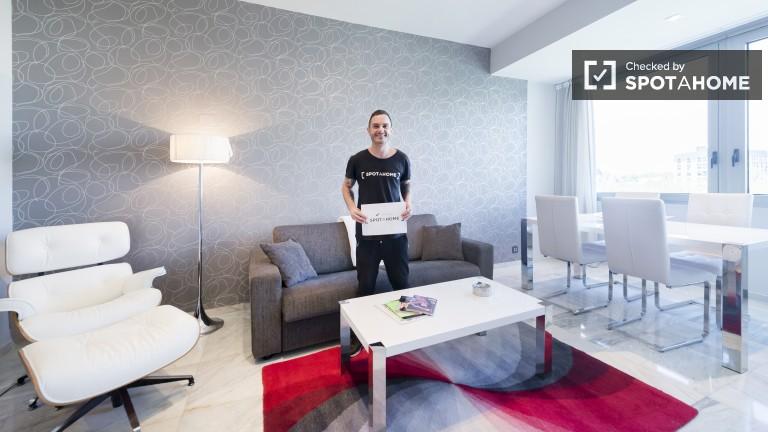 Lekko wynajęte mieszkanie w Puerta del Sol w Madrycie