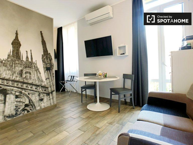 Fabulous Studio-Wohnung zur Miete in Guastalla, Mailand