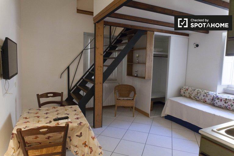 Apartamento de 1 quarto confortável para alugar em Centro Storico, Roma