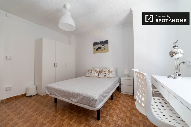 Spacious room for rent in Benimaclet, Valencia