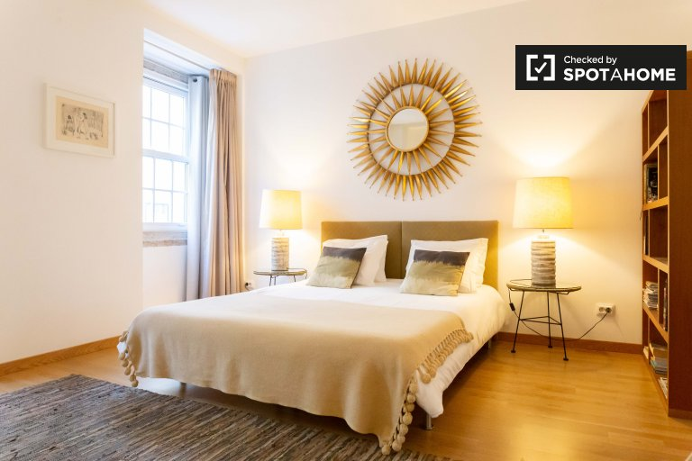Elegante apartamento de 1 quarto para alugar no Chiado, Lisboa
