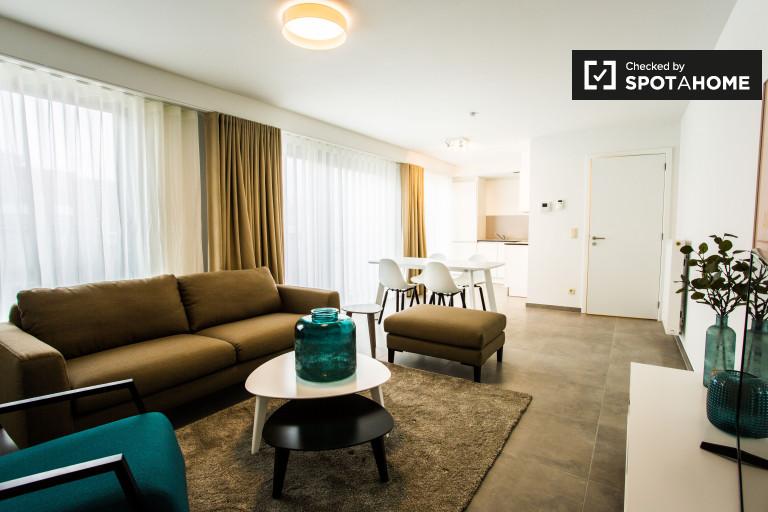 Moderne 1-Zimmer-Wohnung zur Miete in Saint Josse, Brüssel