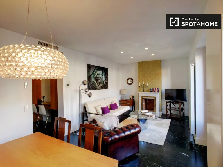 Beautiful 2-bedroom apartment for rent in Salamanca, Madrid