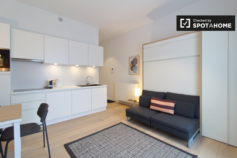 Elegant studio apartment for rent in Zaventem, Brussels