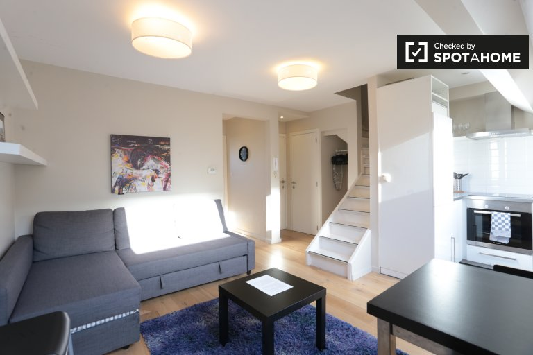 Distinctive 2-bedroom apartment for rent in Uccle, Brussels