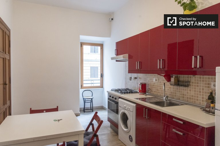 Elegant 1-bedroom apartment for rent in Prati, Rome