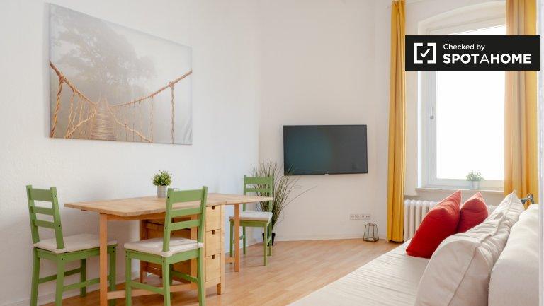 Świeży apartament z 1 sypialnią do wynajęcia w Kreuzberg, Berlin