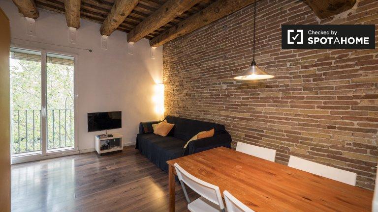 Monolocale in affitto in El Raval, Barcellona