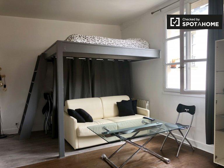 Estudio apartamento en alquiler en Le Marais, París.