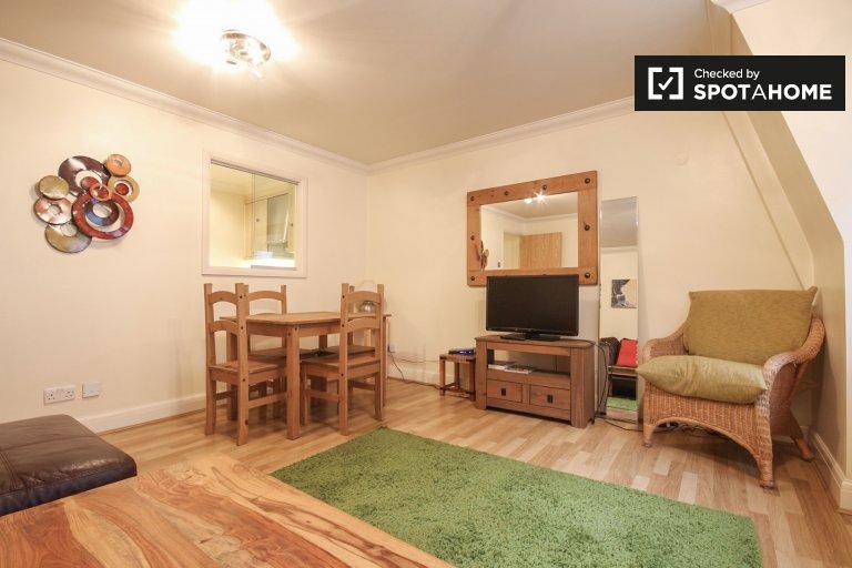 Tasteful 1-bedroom flat to rent in central London