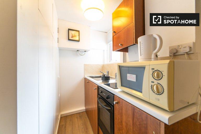 Gemütliches Studio-Apartment zur Miete in Kensington, London