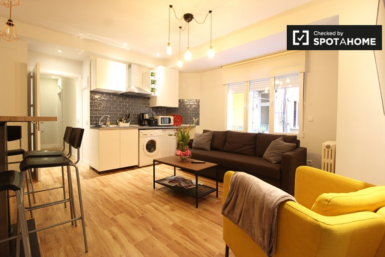 1-bedroom apartment for rent in Delicias, Madrid